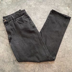 Vintage Rustler Black Denim Jeans